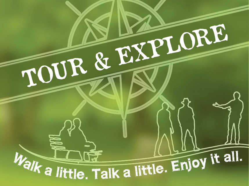 Take a trail walk and enjoy lunch Friday, May 13, at 10:30 a.m.