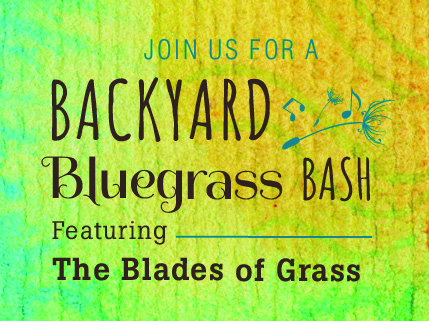 Join us for the Backyard Bluegrass Bash